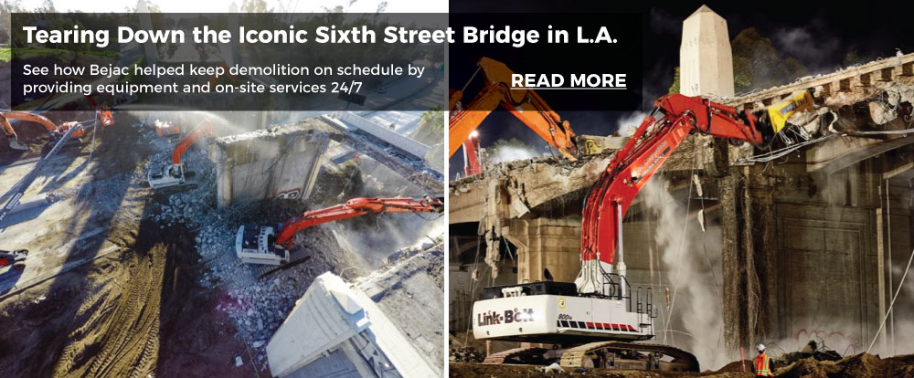 Tearing Down the Iconic Sixth Street Bridge in L.A.